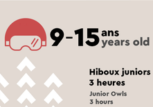 Junior Owls AM - 9 to 15 years old