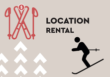 SKI Full Day Rental - Junior 6-12 ans