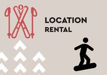 SNOWBOARD - Half Day Rental - Adult 18 years old +