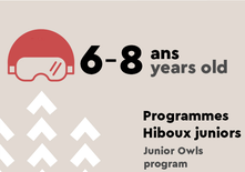 Junior Owls - 6 to 8 years old